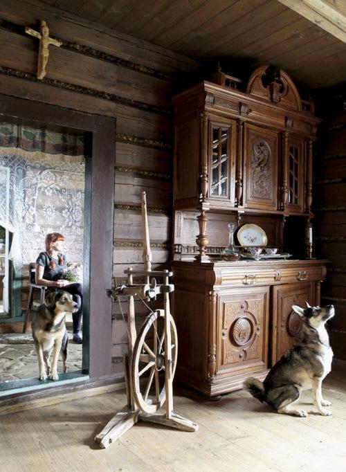 mobilier casa rustica