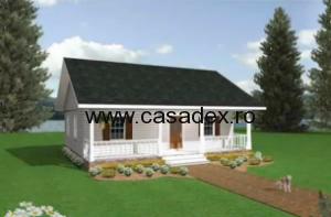 Modele de case: planuri de case mici