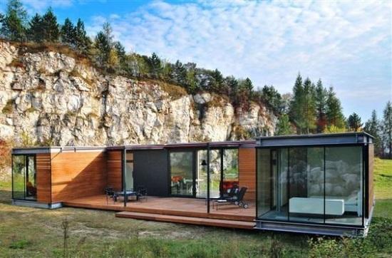 model casa modulara containere