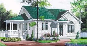 Alte modele si planuri noi de case doar cu parter