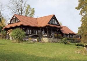 model casa rustica