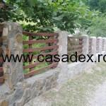 model gard lemn