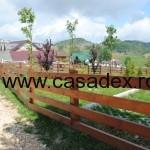 model gard lemn scanduri