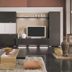 model mobila living modern cu dulapuri mari si comoda tv