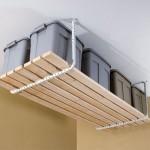 model raft pentru unelte suspendat de tavan garaj sau camera tehnica