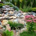 Rocariile: amenajari decorative cu piatra in gradina