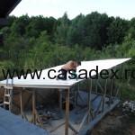 montaj tabla acoperis