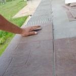 montat gresie terasa