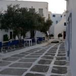 o alta strada din centrul orasului Chora Mykonos