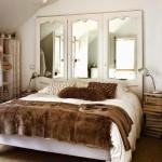 oglinda mare perete decor dormitor