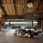 open space cu living dining si terasa rezervatie privata leobo africa de sud