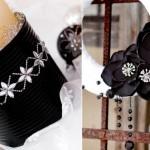 ornamente alb negru