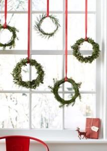 ornamente de craciun in stil scandinav pentru fereastra