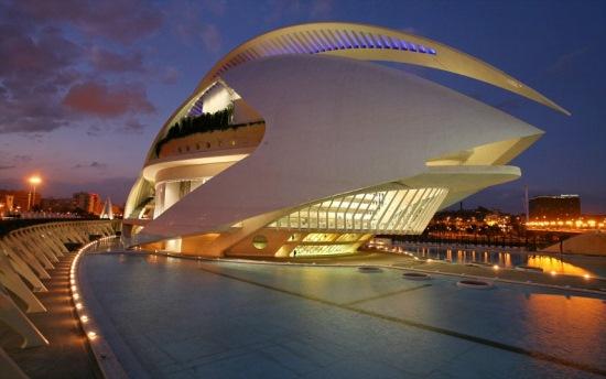 palatul artelor valencia