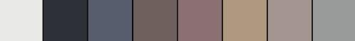 paleta pantone sculpted simplicity