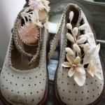 pantofiori cu flori