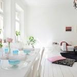 pardoseala dusumea alba interior living modern scandinav