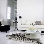 pardoseala dusumea alba interior stil scandinav