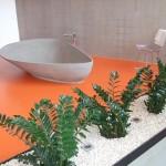 pardoseala epoxidica baie moderna minimalista