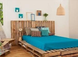 pat de mijloc confectionat din paleti de lemn reciclati