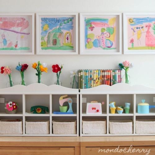 perete camera copii