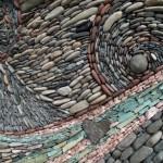 perete decorativ din piatra naturala iluzie miscare