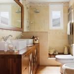perete semi inalt separare cabina dus de lavoar baie