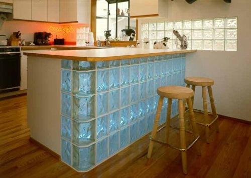 pereti interiori caramida sticla