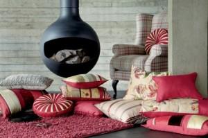 pernute decorative pentru pardoseala decor living iarna