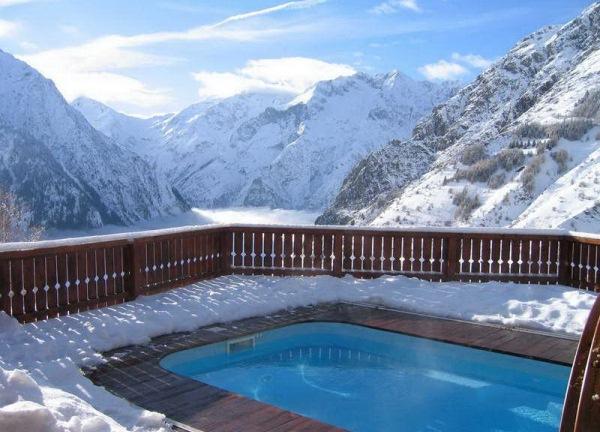 piscina chalet de ponton