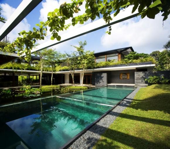 piscina cluny house gradina