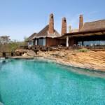 piscina exterioara cabana de lux rezervatie privata africa de sud