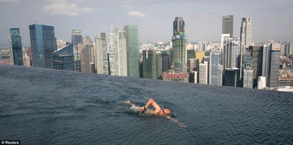 piscina marina bay sand singapore
