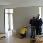 Cum se monteaza un perete despartitor din rigips. Detalii si imagini
