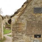 placuta cladire de patrimoniu arlington row bibury anglia