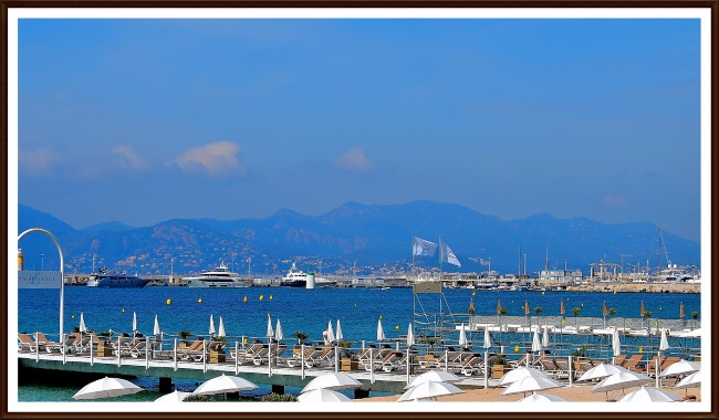 plaja de langa apartament Cannes Franta
