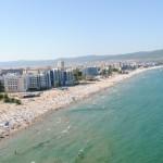 plaja sunny beach de sus