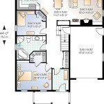 plan casa parter garaj 107 mp