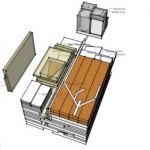 plan colet casa modulara prefabricata