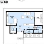 plan parter proiect casa 145 mp