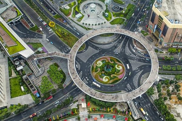 pod pietonal lujiazui shanghai