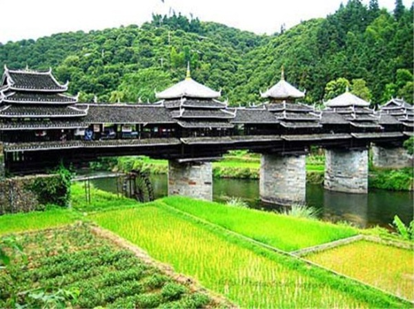 podul vantului si al ploii china