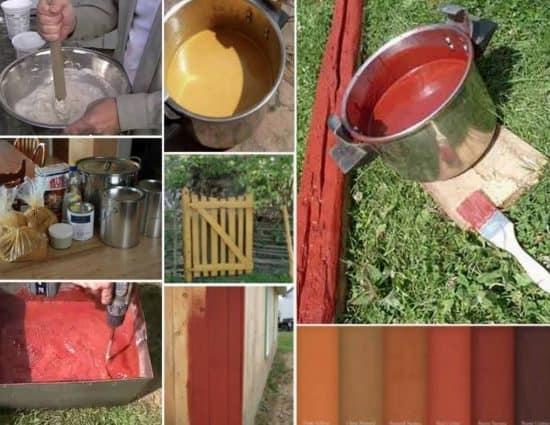Vopsea naturala din faina pentru pereti – cum se prepara