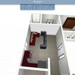proiect 3d casa parter
