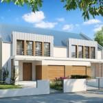 proiect duplex design simetric modern parter si etaj