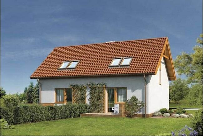 proiect duplex mic simetric parter si mansarda :: CasaDex – case ...