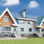 proiect duplex tip american cu doua locuinte individuale parter si mansarda