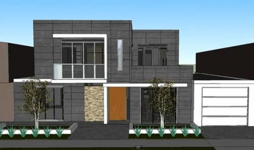 proiect gratuit casa parter etaj