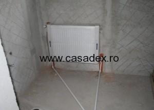 radiator calorifer montat