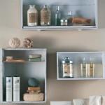 rafturi decorative baie din sertare vechi reciclate